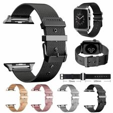 Correa para Apple Watch Serie 5 4 3 2 1 38/40/42/44 mm Banda de Acero Inoxidable Iwatch