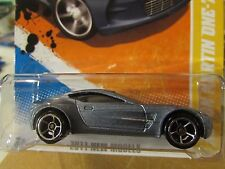 Hot Wheels Aston Martin One-77 2011 New Models Silver