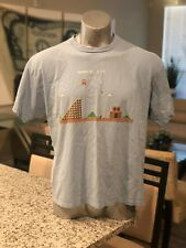 Super Mario Brothers Nintendo Video Game Gaming Gamer TShirt Circa 2007 Vintage