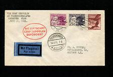 Zeppelin Sieger 111 1931 Hannover Flight Austria Dispatch