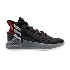Adidas D Rose 9 sz 11 Black Red Grey AQ0039 Basketball Shoe