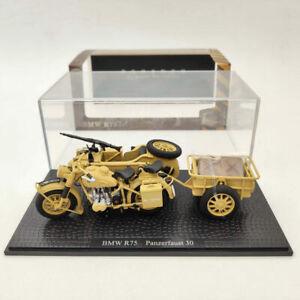 BMW R75 Panzerfaust 30 Motorcycle World War II 1:24 Diecast Model Collection