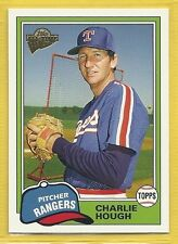 2005 Topps All-Time Fan Favorites - #129 - Charlie Hough - Texas Rangers