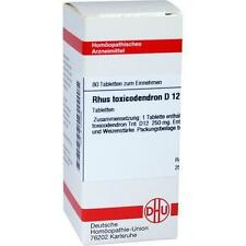 RHUS TOX D12 80St Tabletten PZN:2104896