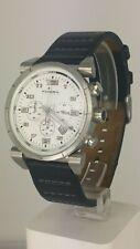 Fossil Blue CH2493 men's chrono watch white dial CH-2493 analog 10 ATM
