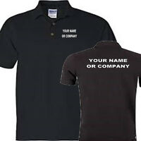 WORK SHIRT (YOUR COMPANY OR NAME ADD WITH ORDER) POLO SHIRT