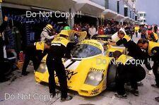 Ayrton SENNA & Henri Pescarolo Porsche 956 Nurburgring 1000 km 1984 fotografía