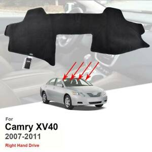 For Toyota Camry Aurion XV40 2007-2011 Car Dash Mat Dashmat Dashboard Cover Pad