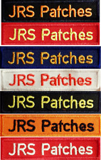 Namensstreifen Namensband Uniform THW / DRK DLRG DFR ASB MHD JUH DGzRS
