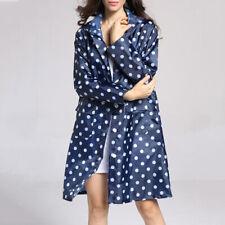 MagiDeal Womens Lightweight Trench Waterproof Raincoat Packable Rain Jacket