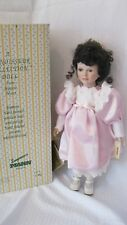"""Seymour Mann Connoisseur Collection Porcelain Doll 18"""" Heloise used w/box"""