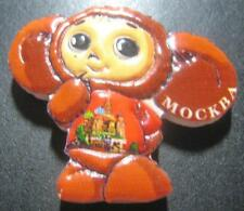 MOSCOW RUSSIA CHEBURASHKA 3D FRIDGE MAGNET NEW SEALED