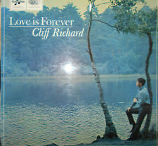 """CLIFF RICHARD - The SHADOWS   LP COLUMBIA  """" LOVE IS FOREVER """"  [UK]"""