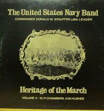 United States Navy Band(Vinyl LP)Heritage Of The March: Volume 4-Ex/NM