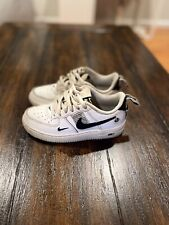 Nike Air Force 1 Low White Boys Size 13C (U.S.) Good Condition