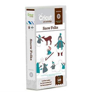 CRICUT® ART CARTRIDGE - SNOW FOLKS NOW JUST £7.49 RRP £16.99 FREE UK P & P