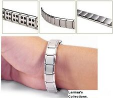 Magnetic Titanium Germanium Energy Pain Relief Bracelet for Healing & Wellbeing.