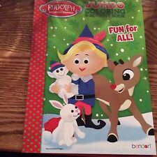 Rudolph Red Nosed Reindeer Christmas Coloring Activity Book Fun For All Hermes
