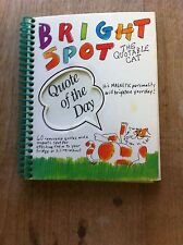 'Bright Spot - The Quotable Cat' Book by Running Press Staff (1992, Hardcover)