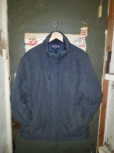 *Patagonia Mens Blue Vintage Puffer Down Jacket Large No Reverse*