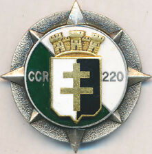 220° Compagnie Circulation Routière émail, guilloché, pastille, Drago 1131(2961)