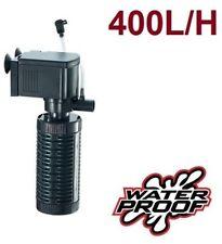 Filtro bomba para acuario pecera oxigenador de agua sumergible 500 L/H 3 en 1