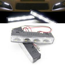 2x Ultra-Slim Bright White 4LED Daylight Running Light Daytime Driving Light DRL