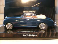 WOW EXTREMELY RARE EARLY MINICHAMPS 1/43 1960 BENTLEY S2 CABRIOLET STUNNING NLA