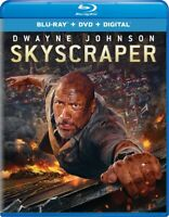 Skyscraper Blu-ray + DVD + Digital 2018 BRAND NEW FAST SHIPPING