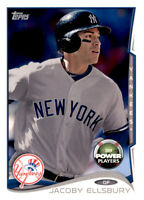 2014 Topps Power Players Jacoby Ellsbury MLB Insert Parallel PWE Yankees #194