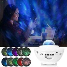 USB LED Sternenprojektor Musik Nachtlicht Star Sky Projektionslampe H9J5