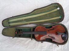 Vieja violín violín full size aprox. 60 cm