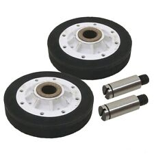 Part For Whirlpool Amana Speed Queen Dryer Drum Roller And Shaft Kit Replacement