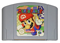 Nintendo 64 N64 Video Game Mario Party Cartridge-Authentic-Cleaned-Tested