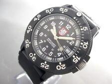 Auth LUMINOX Seals 3000/3900 V3 Black Wrist Watch