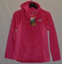 The North Face Girl's Youth Oso Fleece Pullover Jacket Hoodie Pink Size M New