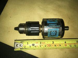 Vintage Drill Chuck Mason Master Hammer attachment rare tool kit.