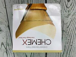 Chemex Natural Coffee Filters Square 100ct Exclusive Packaging 100 filters