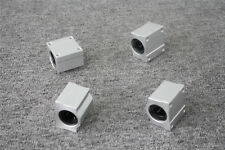 SCS10UU 10mm Linear Ball Bearing Pillow Block Linear Slides Unit for CNC 4PC
