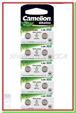 10 Batterie Pile CAMELION AG0 LR521 G0 379 SR521W SR63 SR521SW L521F