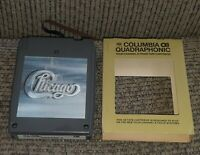 VTG Chicago ll 2 8 track Quadraphonic QUAD tape w sleeve BROKEN TAPE QCA-33258