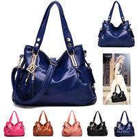 Women Handbag Shoulder Bag Tote Purse New Fashion PU Leather Messenger Hobo Lady