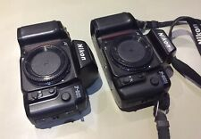 NIKON f801s f-801s 35mm camera + F801 Camera, Both good working order, 1 strap