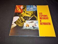 LES ESPIONS MEURENT A BEYROUTH  scenario GEANT dossier presse cinema 1964