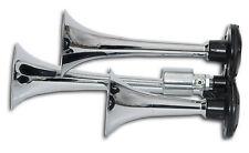 TRIPLE TRUMPET TRAIN AIR Horn DEAFENING LOUD Horns WOW 135db @ 10m  Best Horns