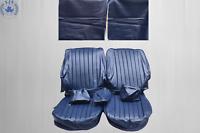 Sitzbezüge für die Vordersitze Mercedes Benz SL R/W107, SLC blau ab Bj.85