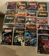 Batman Knightfall Complete set