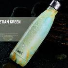 STAINLESS STEEL Thermos Vacuum Insulated Drink Water Bottle Travel Mug 500ml LJA