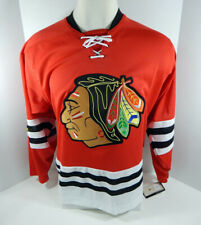 New Chicago Blackhawks Adidas Throwback Team Classic Premier Red Jersey 56 2XL