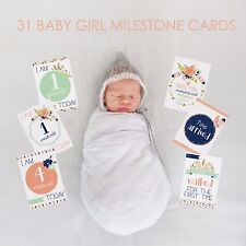 Baby Girl Moments and Milestones Cards - 30 Pack. Brand New and Sealed